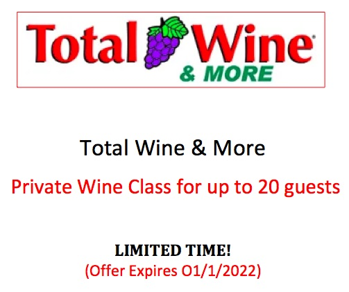 #1777   Total Wine - Value $500