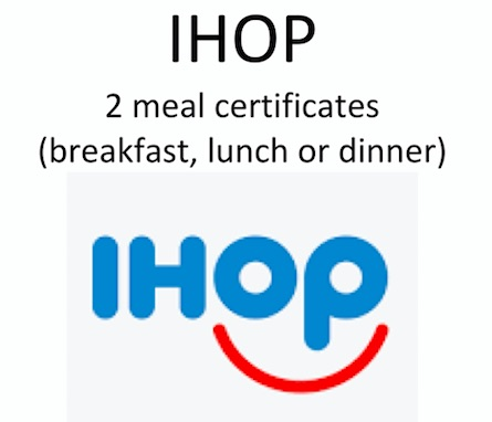 #1783  IHOP - Value $30
