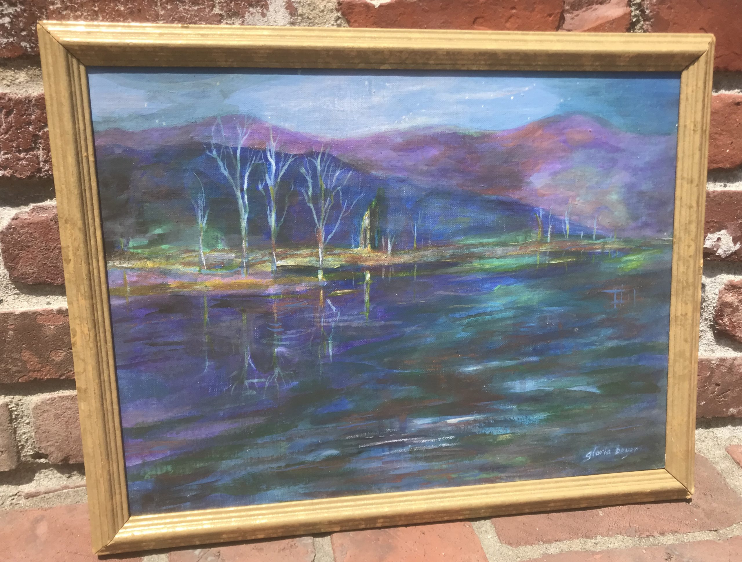 #1796   Lake Reflections - Value $150